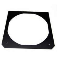 "TIMES SQUARE 6.5"" x 6.5"" Black Square Steel Gel Frames"