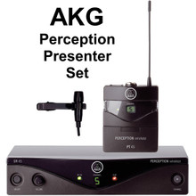 AKG PERCEPTION PRESENTER SET Wireless Lavalier Mic System