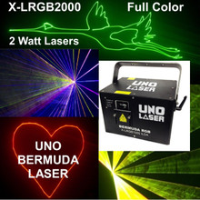 UNO BERMUDA X-LRG2000 2w Powerful Full Color Laser FX $200 Instant Coupon Use Promo Code: $200-OFF