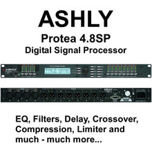ASHLY PROTEA 4.8SP Professional Multiple Digital Processor $30 Instant Coupon Use Promo Code: $30-OFF