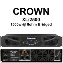CROWN XLI2500 1500w Bridged Rackmount Amplifier