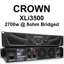 CROWN XLI3500 2700w Bridged Rackmount Amplifier $30 Instant Coupon use Promo Code: $30-OFF