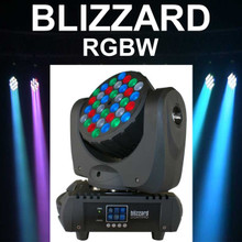 BLIZZARD BLADE RGBW Razor Sharp Beams Moving Light