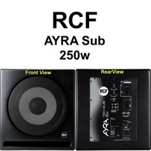 RCF AYRA 10 SUB 250w Active Studio Nearfield Reference Monitor $30 Instant Coupon use Promo Code: $30-OFF