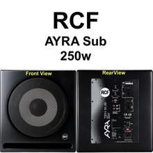 RCF AYRA 10 SUB 250w Active Studio Nearfield Reference Monitor