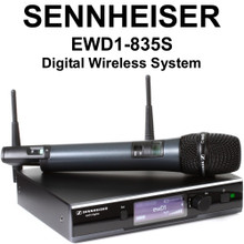 SENNHEISER EWD1-835S Evolution D1 Series Digital Wireless Handheld Microphone System $10 Instant Coupon Use Promo Code: $10-OFF