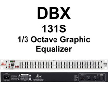 DBX 131S 1/3 Octave 31 Band Graphic Equalizer $5 Instant Coupon Use Promo Code: $5-OFF
