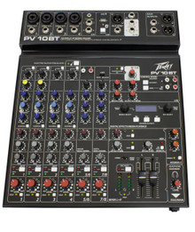 PEAVEY PV10BT USB Out MP3 In Bluetooth FX Mixer $5 Instant Off Use Promo Code: $5 OFF
