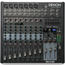 DENON DN-412X 12 Channel FX USB Audio Mixer $5 Instant Coupon Use Promo Code: $5-OFF