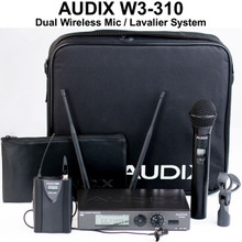AUDIX W3310B Dual Mic & Lavalier Wireless System $30 Instant Coupon Use Promo Code: $30-Off