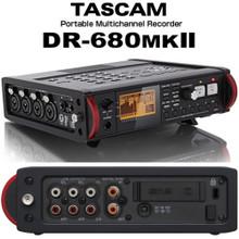 TASCAM DR-680MKII Portable Digital Multi-Channel Field Recorder