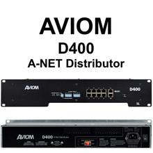Aviom D400 Personal Audio Mixer A-Net Distribution