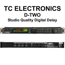 TC Electronic D-Two Multitap Rhythm Delay Processor