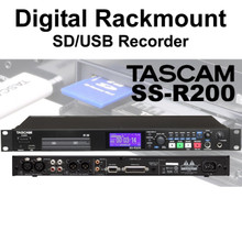 TASCAM SS-R200 Rackmount SD/USB Digital Recorder