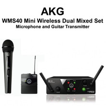 AKG WMS40 Mini2 MIX SET Dual Receiver with Mic and Guitar Transmitter $10 Instant Coupon Use Promo Code: $10-OFF