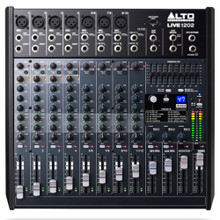 ALTO PROFESSIONAL LIVE 1202 12 Channel USB FX Audio Mixer $15 Instant Coupon Use Promo Code: $15-OFF