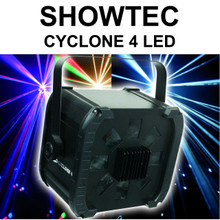 SHOWTEC CYCLONE 4 Led Multi Lens Laser-Sharp Beam FX $10 Instant Coupon Use Promo Code: $10-OFF