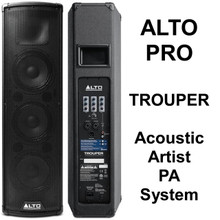 ALTO PROFESSIONAL TROUPER Acoustic Artist Lightweight Bluetooth PA System $5 Instant Coupon Use Promo Code: $5-OFF