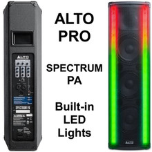 ALTO PROFESSIONAL SPECTRUM PA System with Built-in LED Light FX $10 Instant Coupon Use Promo Code: $10-OFF