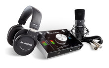 M-AUDIO M-TRACK-2X2S-PRO All-In-One Computer Recording Bundle $5 Instant Coupon Use Promo Code: $5-OFF