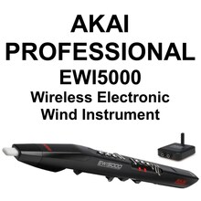 AKAI PROFESSIONAL EWI5000 Wireless Electronic Wind Performance Instrument $20 Instant Coupon Use Promo Code: $20-OFF