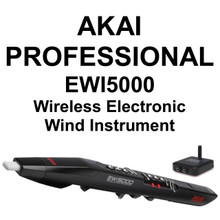 AKAI PROFESSIONAL EWI5000 Wireless Electronic Wind Performance Instrument $40 Instant Coupon Use Promo Code: $40-OFF