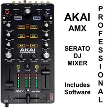 AKAI PROFESSIONAL AMX Serato DJ Controller Mixer with Software $10 Instant Coupon Use Promo Code: $10-Off