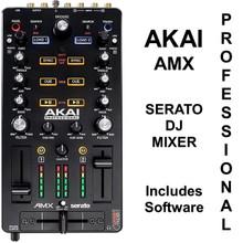 AKAI PROFESSIONAL AMX Serato DJ Controller Mixer with Software