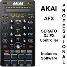 AKAI PROFESSIONAL AFX Serato DJ Controller with Backpack FX Expansion Software