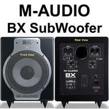 M-AUDIO BX-SUBWOOFER 240w Active 20hz Super Low Bass Speaker $20 Instant Use Promo Code: $20-Off