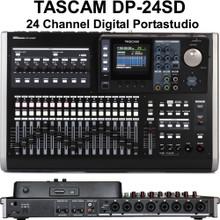 TASCAM DP-24SD PORTASTUDIO Digital Mixer