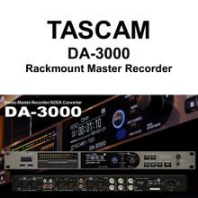 TASCAM DA-3000 Rackmount Master Recorder AD-DA Converter