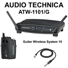 Audio Technica ATW-1101/G 2.4 Ghz System 10 Guitar Wireless Pack $10 Instant Coupon Use Promo Code: $10-Off