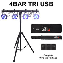 CHAUVET 4BAR TRI USB DMX Complete Wireless Light System $15 Instant Coupon Use Promo Code: $15-OFF