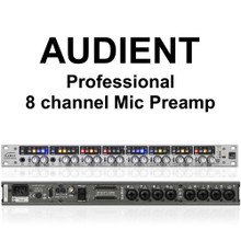 AUDIENT ASP880 8 Channel Professional Recording Preamp Processor