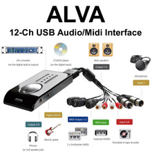 Alva Nanoface 12 Channel USB Audio/Midi Interface Breakout Cable $20 Instant Coupon use Promo Code: $20-OFF