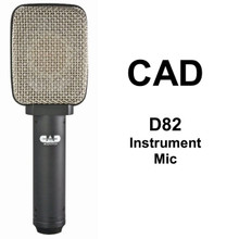 CAD D82 Moving Ribbon Dynamic Instrument Microphone $10 Instant Coupon Use Promo Code: $10-Off