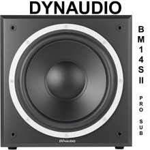 DYNAUDIO BM14SII 300w Ultra Low End Active Studio Sub $50 Instant Coupon Use Promo Code: $50-OFF