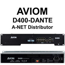 AVIOM D400-DANTE Personal Audio Mixer A-Net Distribution $25 Instant Coupon Use Promo Code: $25-OFF