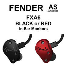 FENDER FXA6 Professional Hybrid-Dynamic Armature Dual In-Ear Monitors $20 Instant Coupon Use Promo Code: $20-OFF