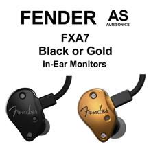 FENDER FXA7 Professional Dual HDBA In-Ear Monitors $20 IIn-Ear Monitors $25 Instant Coupon Use Promo Code: $25-OFF