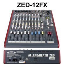 ALLEN & HEATH ZED-12FX 12 Channel USB Live & Recording Mixer with Professional Features