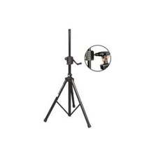ON-STAGE SS8800B+ (2) Power Crank-Up Aluminum Speaker Stands
