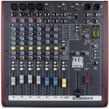 ALLEN & HEATH ZED-60/10FX 12 Channel USB Compact Live Recording Audio Mixer