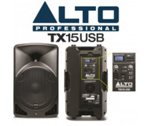 ALTO PROFESSIONAL TX15USB 1200w Built-in Media Player PA System $30 Instant Coupon Use Promo Code: $30-OFF