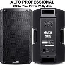 ALTO PROFESSIONAL TS212 2200w Total Peak Power PA System $10 Instant Coupon Use Promo Code: $10-OFF
