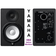 """YAMAHA HS5 Active 140w Total 5"""" Nearfield Studio Reference Monitor Pair"""
