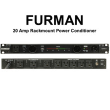 FURMAN PL-PRO-C Dual LED Light Voltmeter 20A Power Conditioner with USB Charger