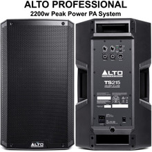 ALTO PROFESSIONAL TS215 2200w Total Peak Power PA System $10 Instant Coupon Use Promo Code: $10-OFF
