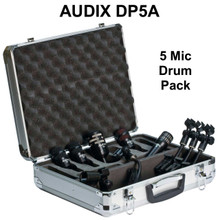 AUDIX DP5A Professional Studio / Touring Drum Mic Pack with Case